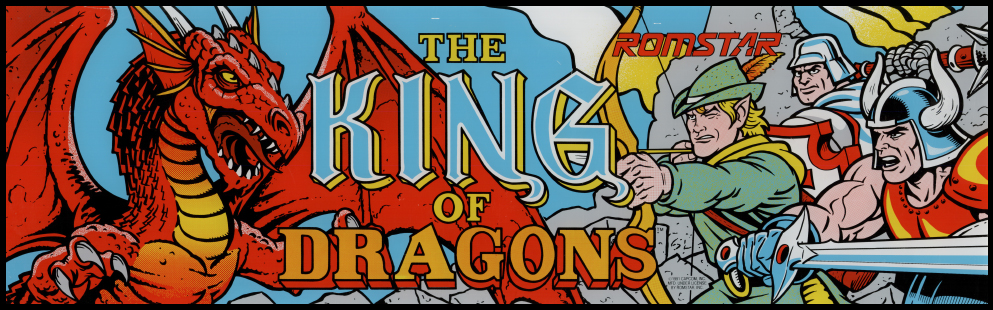 The King of Dragons Galloping Ghost Arcade