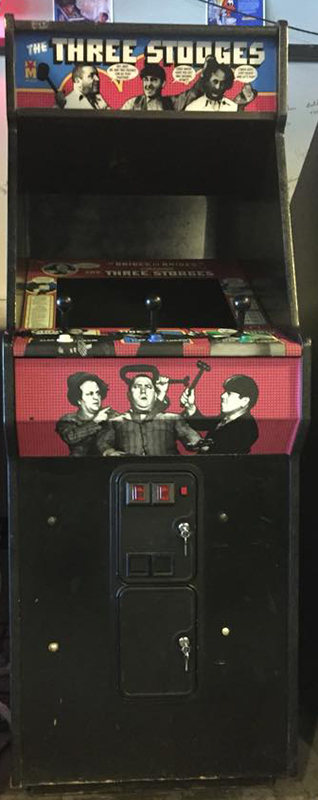three stooges galloping ghost arcade